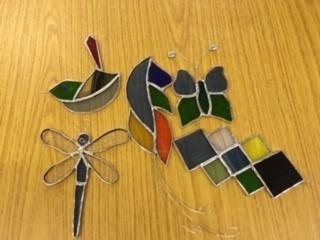Stained glass craft day -
