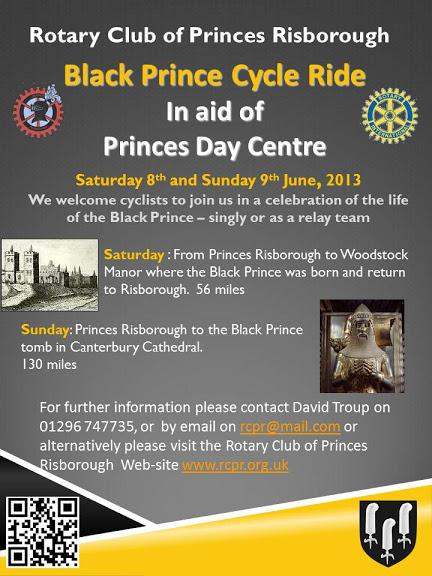 Black Prince Cycle Ride photographs -