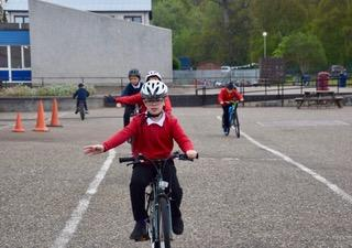 Primary School Cycling 2018/2019 - Concentration evident