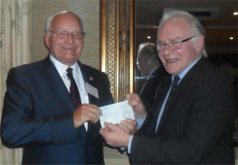 Charity Cheques Presentation 2013 - David Frost