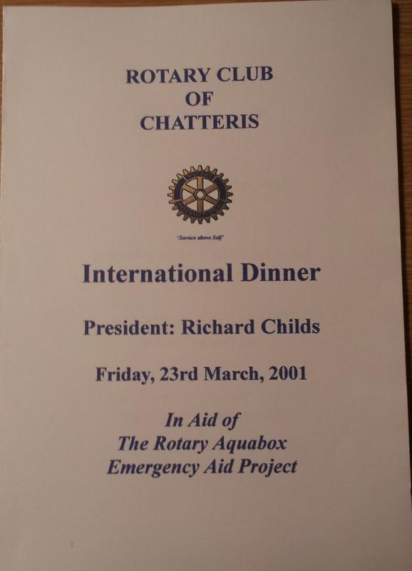 Historic Pictures - dinner with president Childs