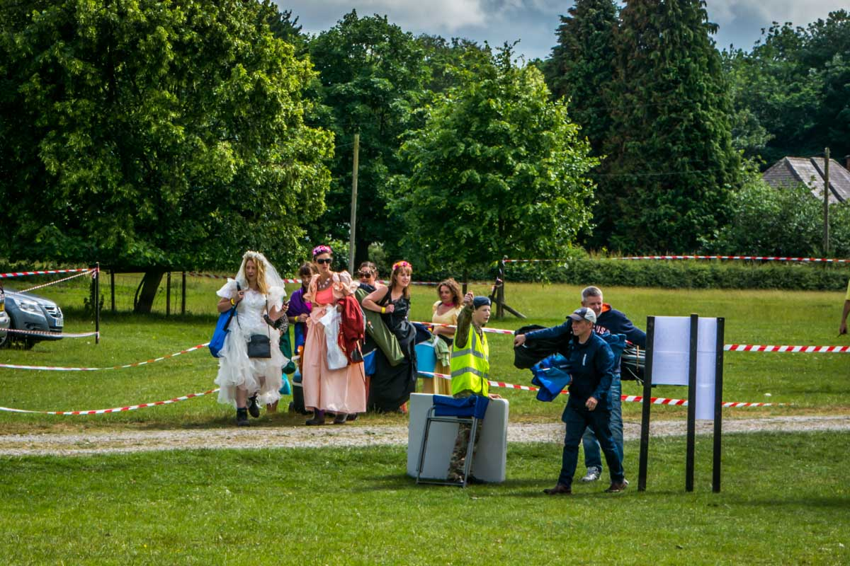 Poynton's Party in the Park 2018. -