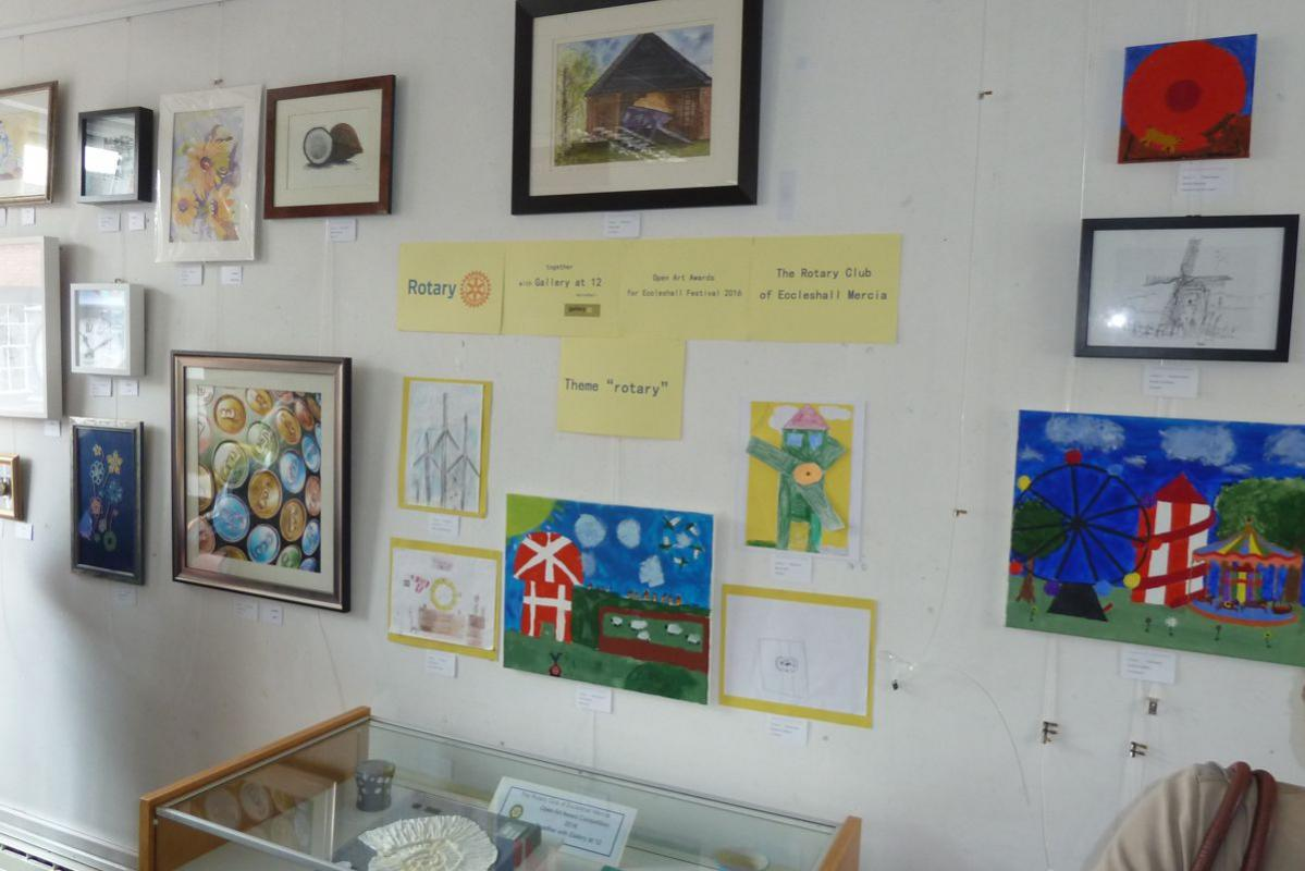 Eccleshall Festival 2016 Open Art Awards Competition results -