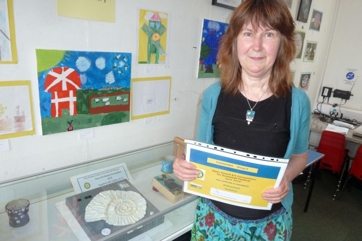 Eccleshall Festival 2016 Open Art Awards Competition results - Award winner Gill Bramham