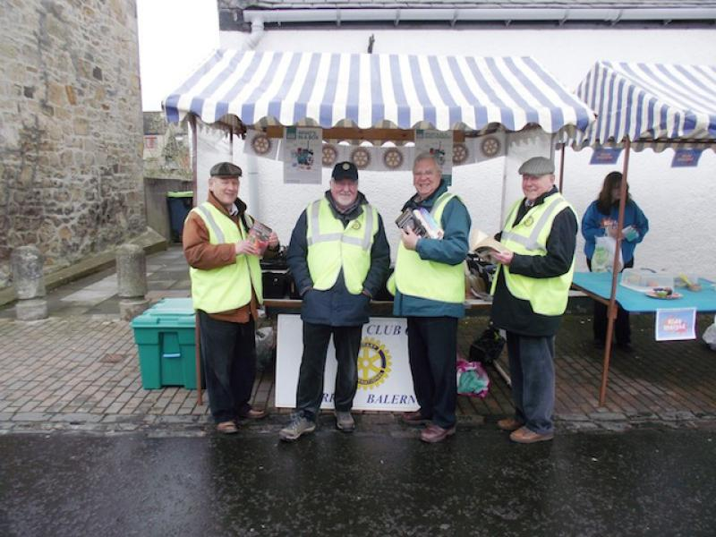 Our Bookstall at Balerno Farmers Market - Again! - eleven crew
