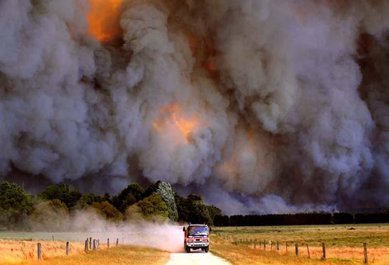 Putting the Environment on the Map - Spontaneous combustion following severe drought