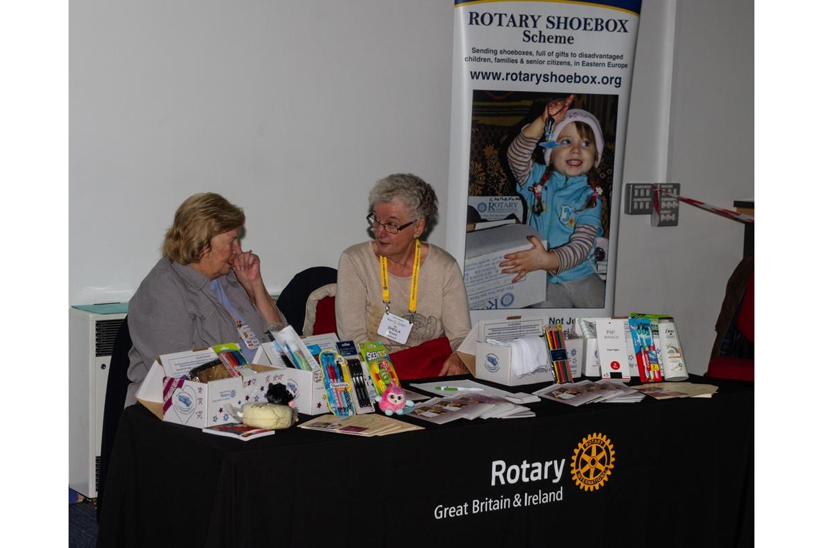 Conference 2019 pictures - Rotary Shoebox