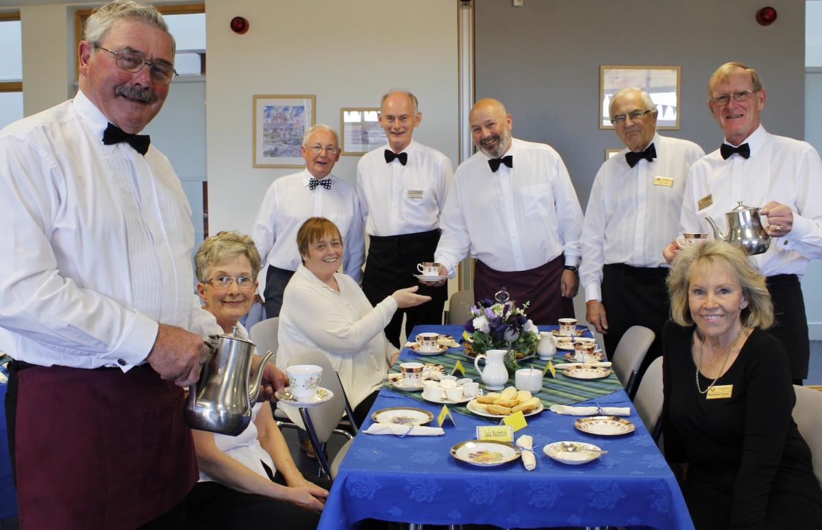 Community & Vocational - The Club staged a Big Fat Afternoon Tea event to raise funds for local charities