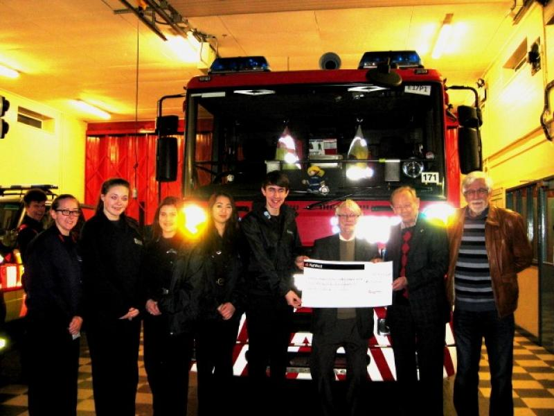 Rotary supports local Fire Cadets' Nepal Project -