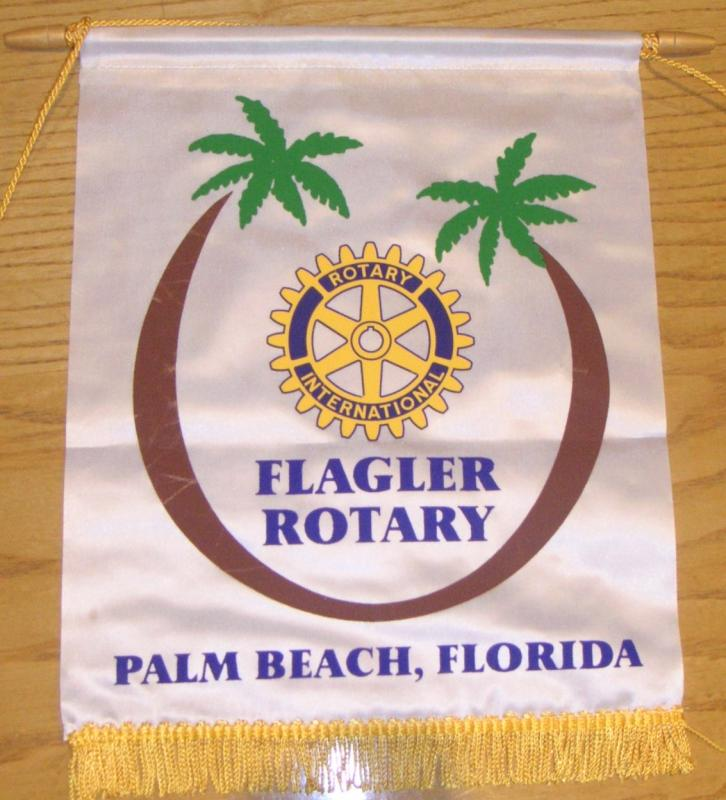 Banners - From PP Peter Gardner's visit to Florida 2017