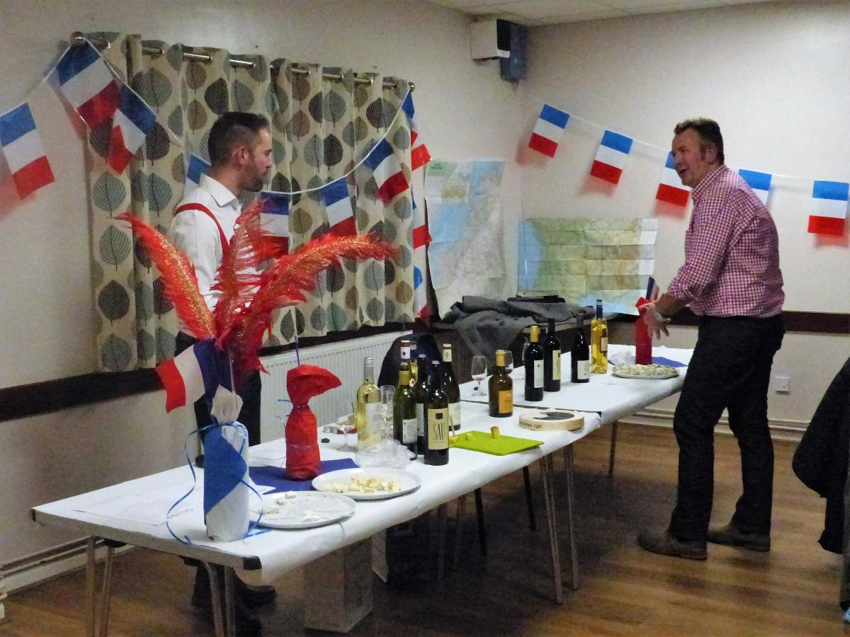 French Evening Saturday 25 November - french evening