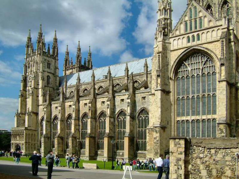 Black Prince Cycle Ride photographs - gallery canterbury cathedral
