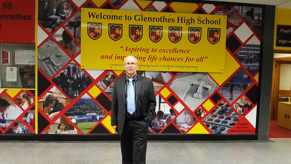 Glenrothes High School 50th Anniversary - geoff GHS