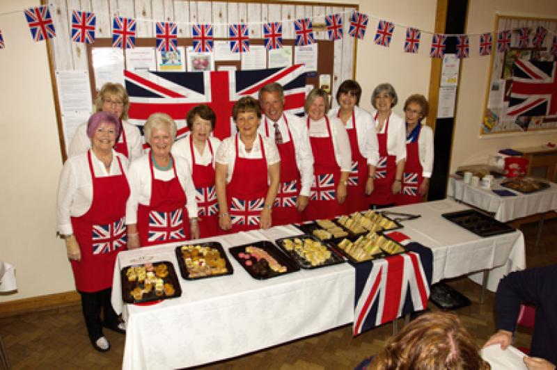 St George's Day afternoon tea -