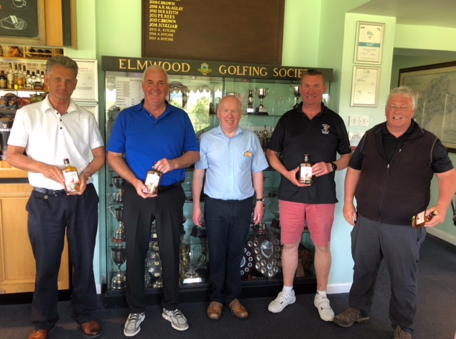 Charity Golf Day - golf runnersup