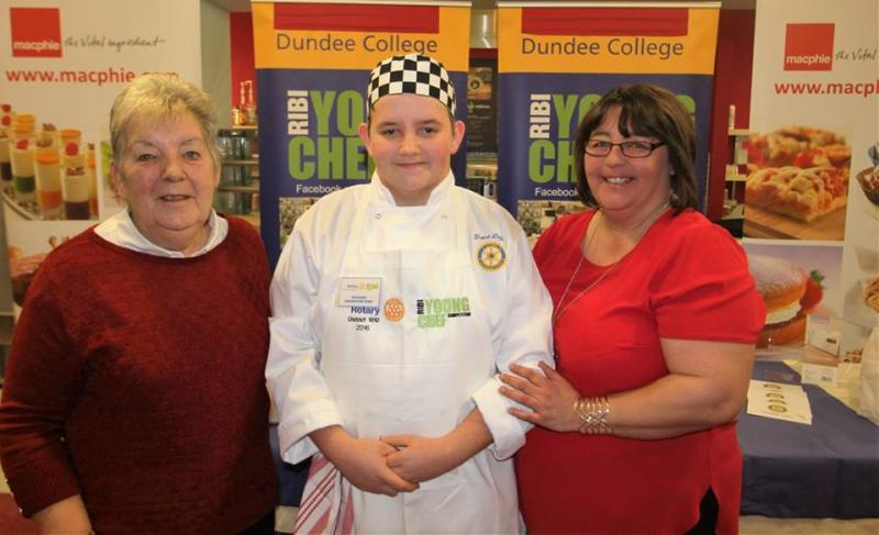Young Chef District Competition 2016 - grant mum and gran