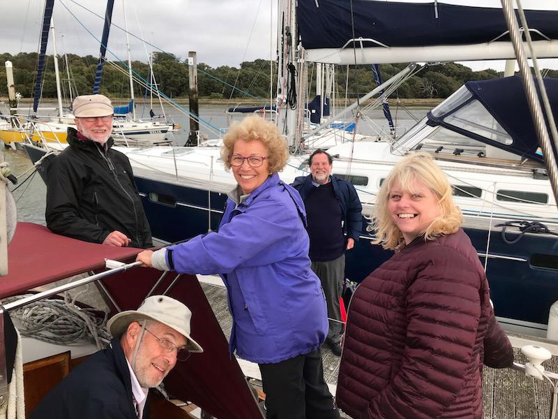 Annual Sail-over to Cowes  -