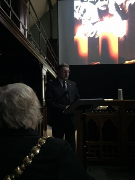 Holocaust Memorial Day 2016 -
