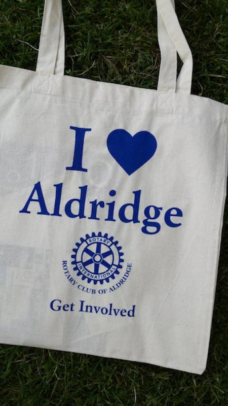 Lions' Aldridge Fair - Free and exclusive i love Aldridge bag with purchase of a raffle ticket.