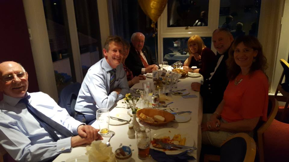 The Rotary Club of Glenrothes -  60th Anniversary - iain haywood