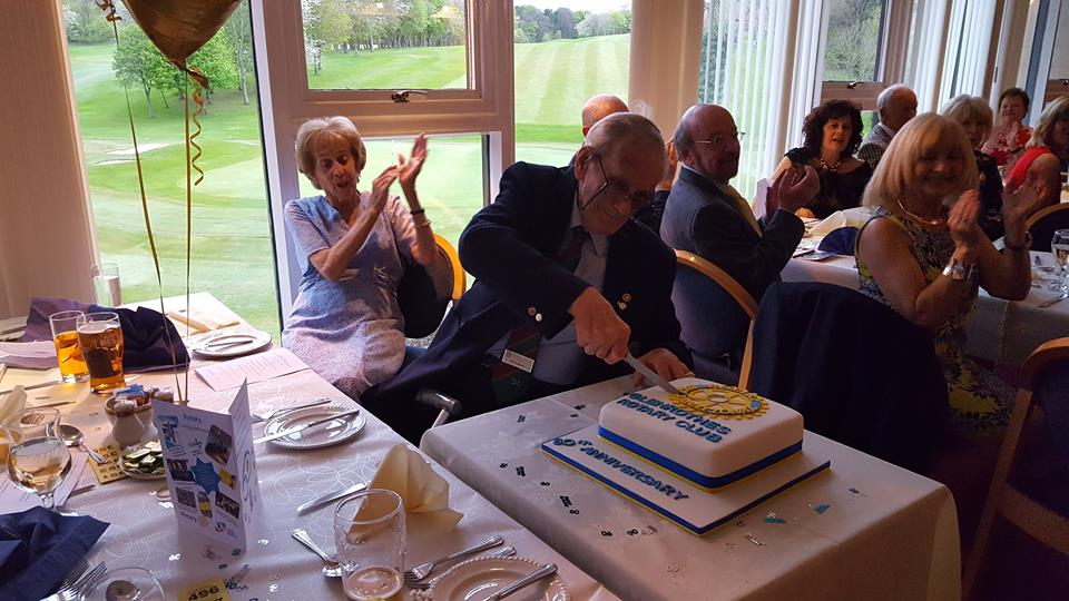 The Rotary Club of Glenrothes -  60th Anniversary - ian chalmers