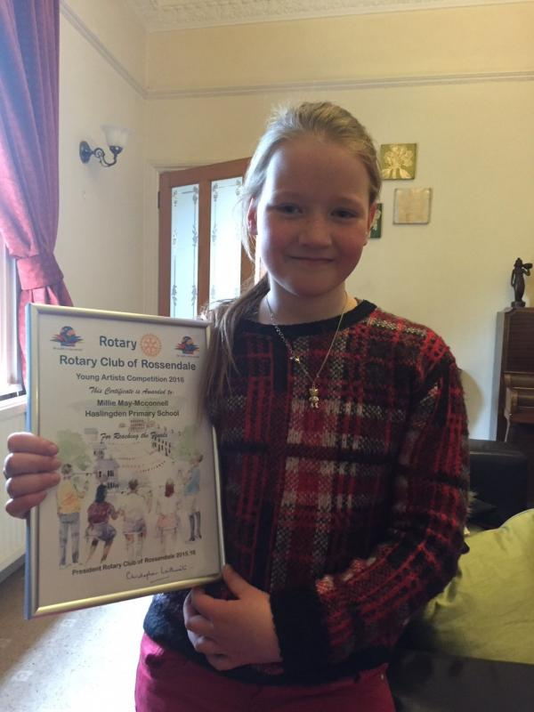 2016 Rossendale Rotary Young Artist Competition -