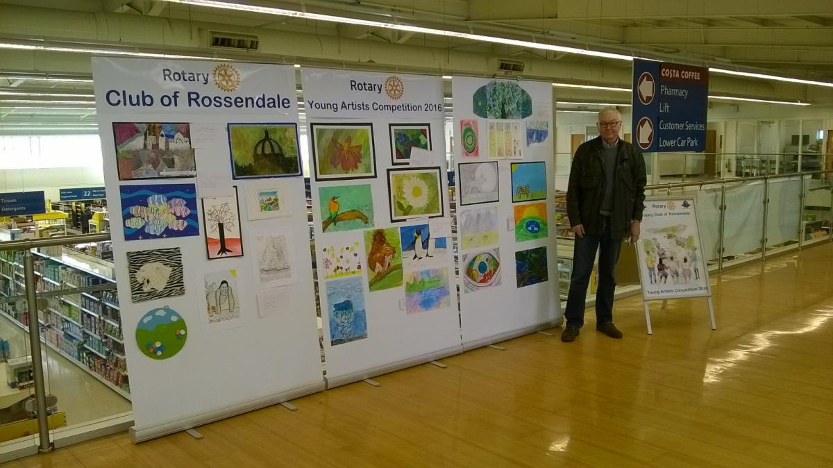 2016 Rossendale Rotary Young Artist Competition - Tesco Haslingden