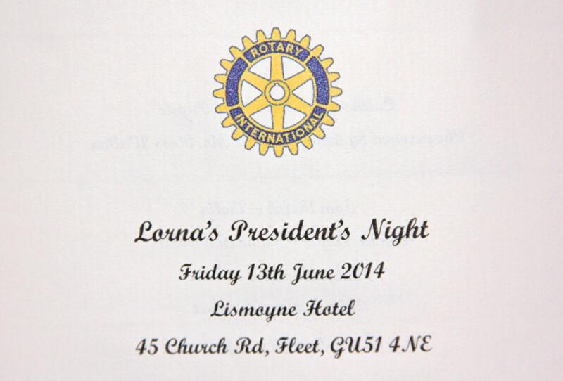 President Lorna's  Night - Photo courtesy of Ross Mitchell