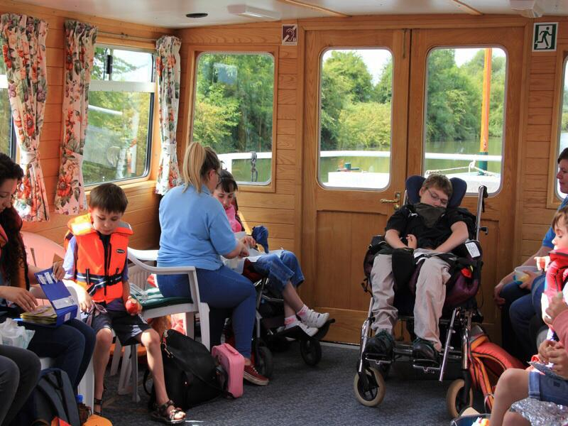 Willow Trust Outing - All aboard