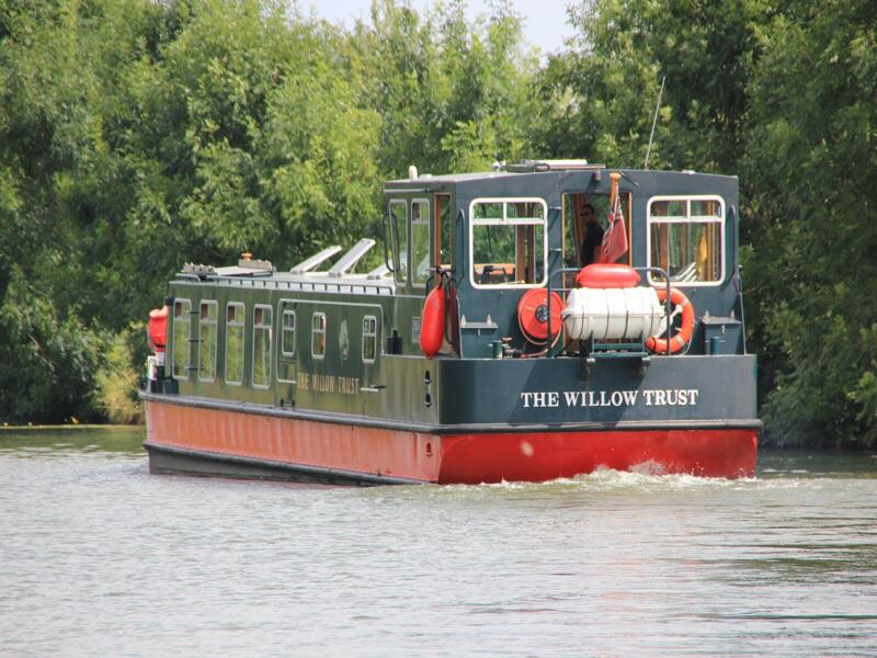 Willow Trust Outing - Leaving Saul Junction