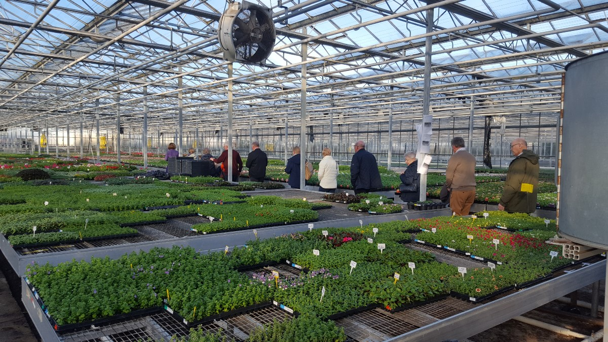 Visit to Pentland Plants 2018 -