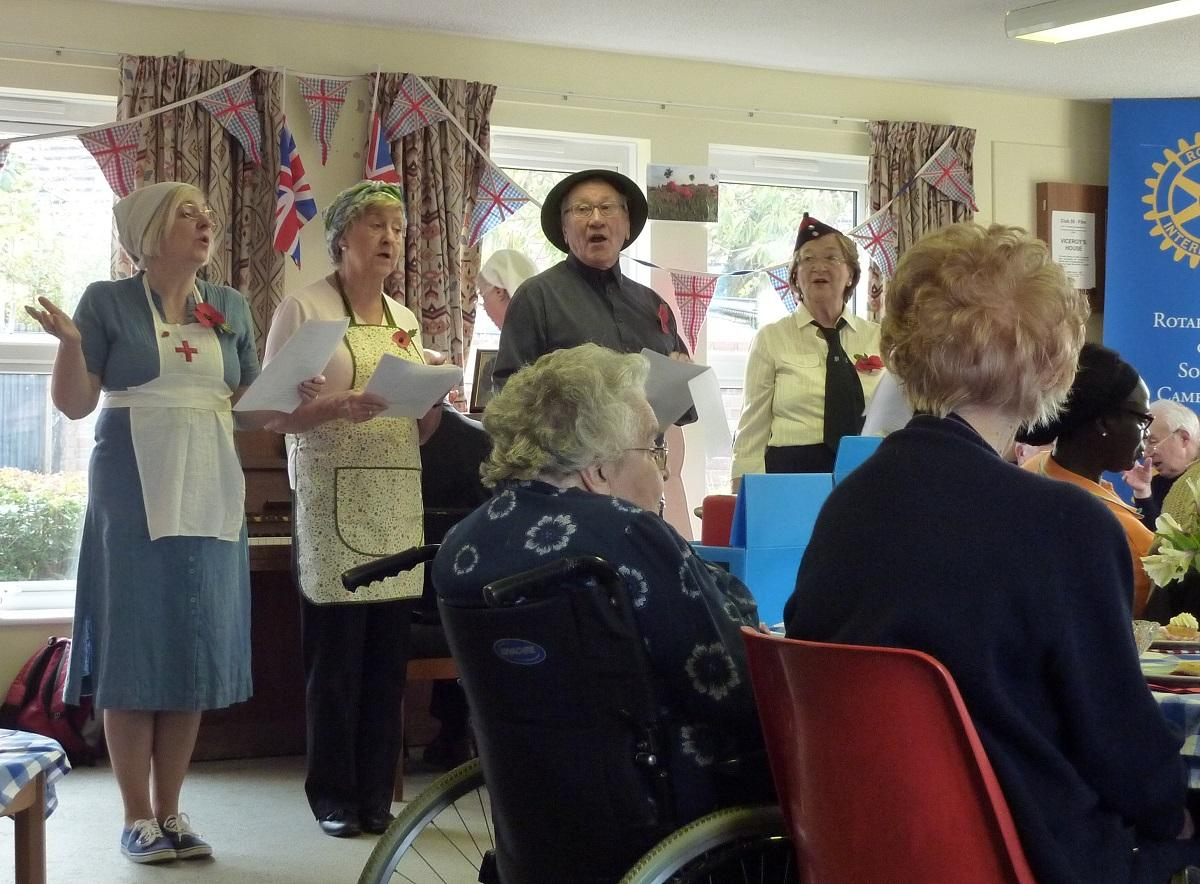 Nov 2017 Girton Memory Cafe  - St Vincents Community Hall - .