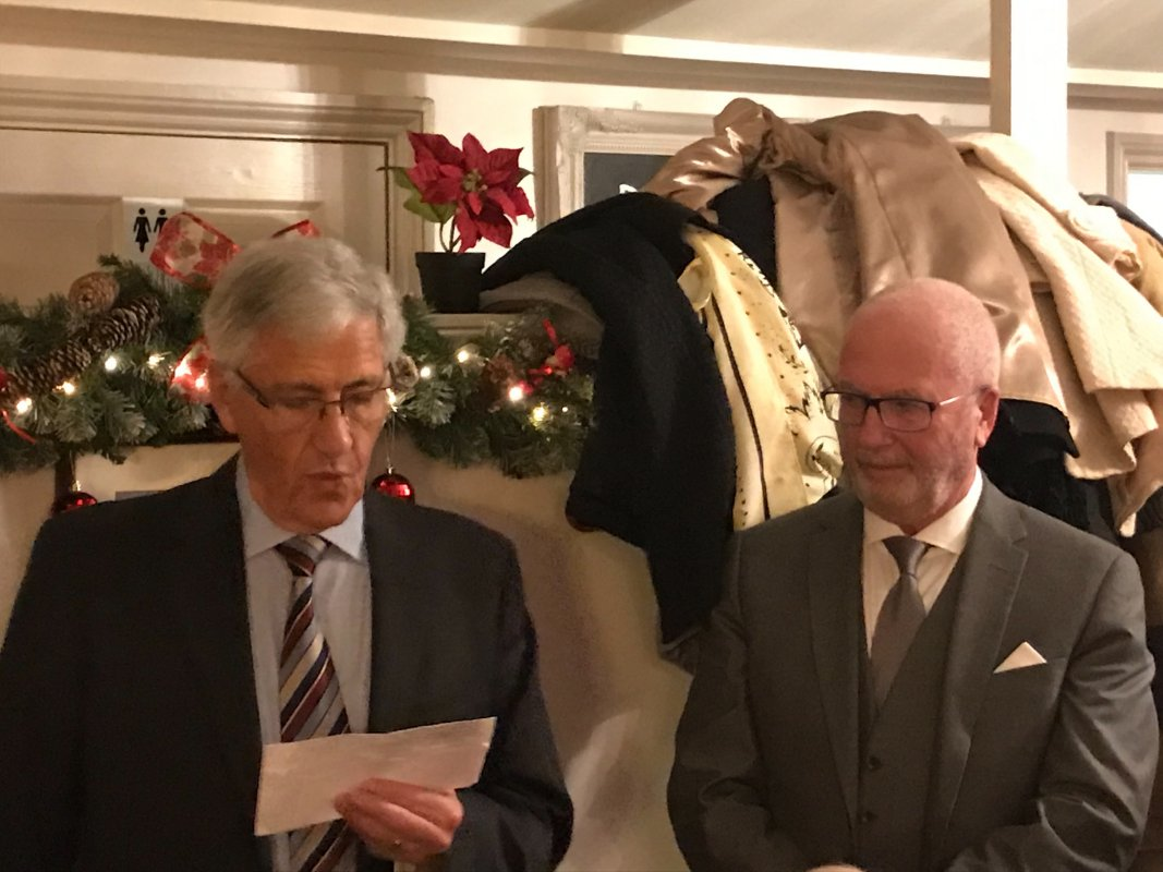 2 New Members Inducted - 22.11.18 - Photo - courtesy of Helder