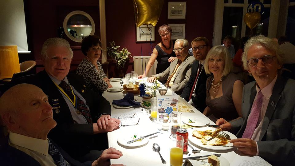 The Rotary Club of Glenrothes -  60th Anniversary - jim boyd
