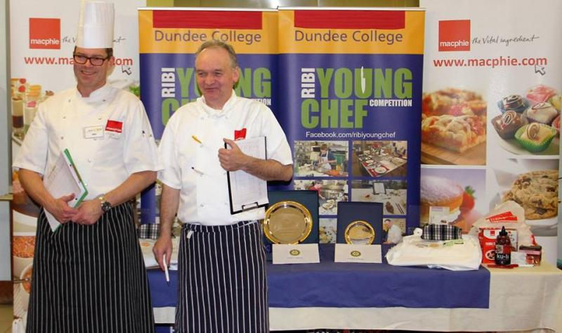 Young Chef District Competition 2016 - judges