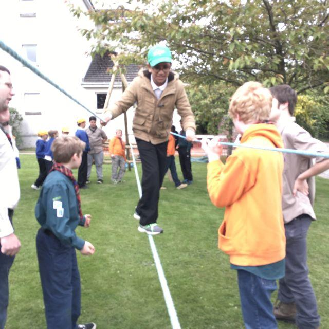 Kids Out 2016 - helped by Scouts