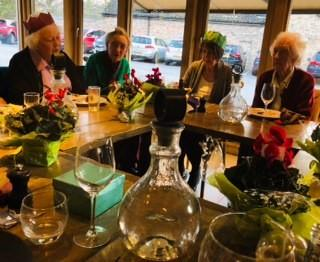 Sawston Wives met for their Christmas Lunch -