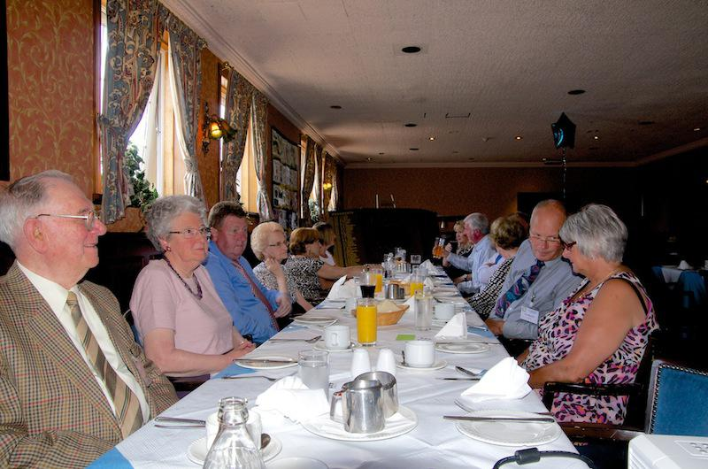 Cowdenbeath Rotary Club celebrates its 90th birthday. - Current Members and their spouses enjoyed. lunch