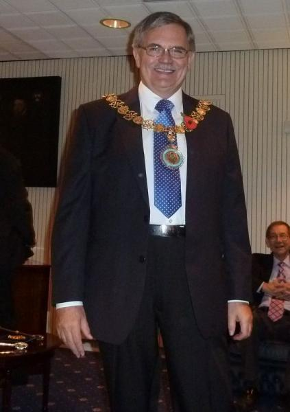 Rotary Members visit the Mayor of Stafford's Parlour -