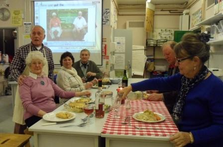 Master Chef, With Pippa at  Newent School 3rd March 2015 - Its Good and even a table cloth