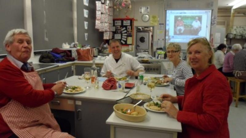Master Chef, With Pippa at  Newent School  - mchef8