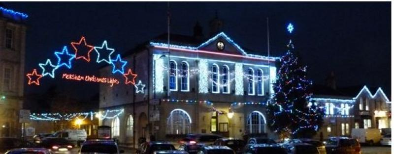 Christmas Lights switchon = Hope and Homes day - Town Hall