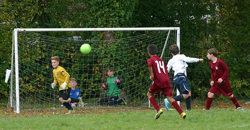 Another Fantastic Primary Schools Football Tournament! - Cuffley and Little Heath playing in their semi-final