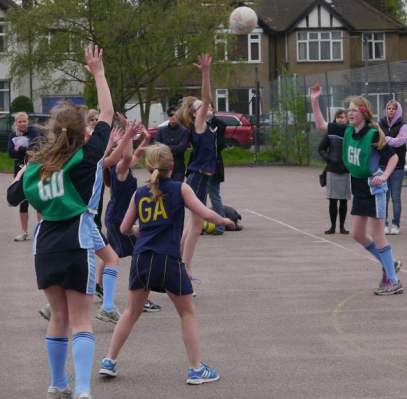 Netball Tournament - Some of the action