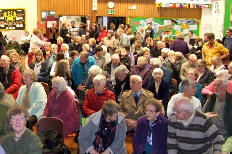Senior Citizen's Concert - The hall was packed for the concert