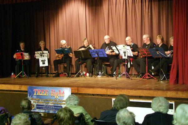 Senior Citizen's Concert - Festive music from the Horncastle Ukulele Band