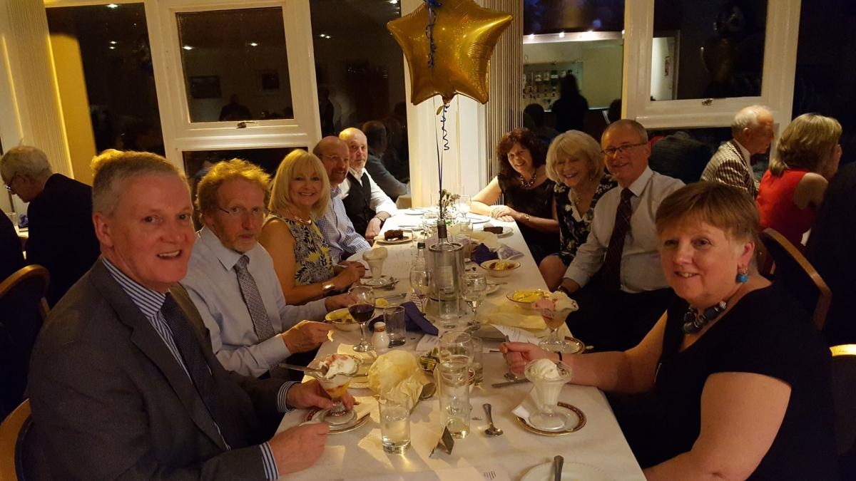 The Rotary Club of Glenrothes -  60th Anniversary - our table