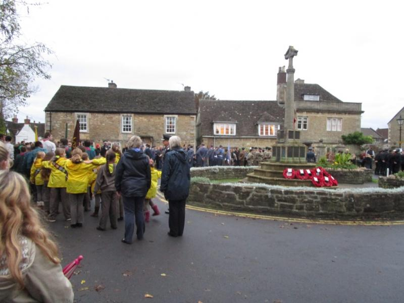 Remembrance Service 2015 - The Parade
