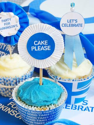 Club Meeting 15th October - parkinsons cake flags