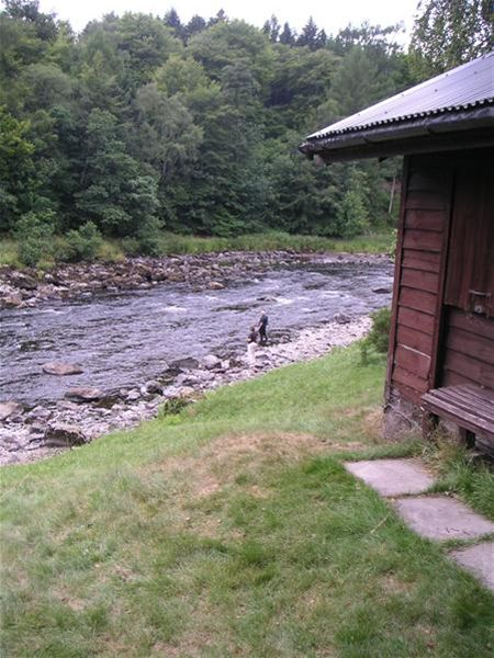 Fishing on the Dee -